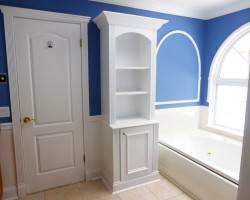 bathroom built in