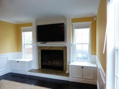 Fireplace nantels