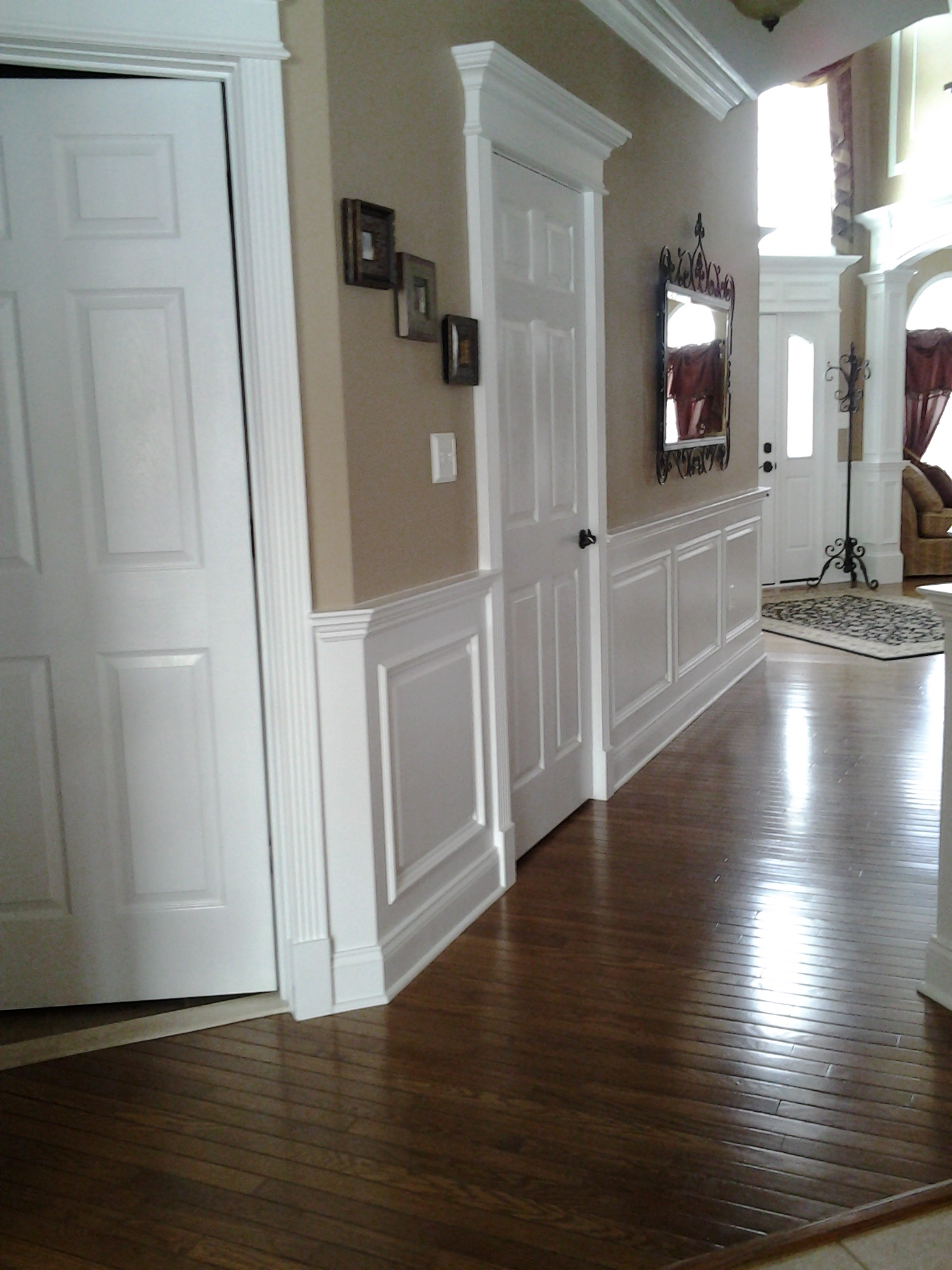 Delightful Chair Rail Uneven Floor Part - 11: Wainscoting