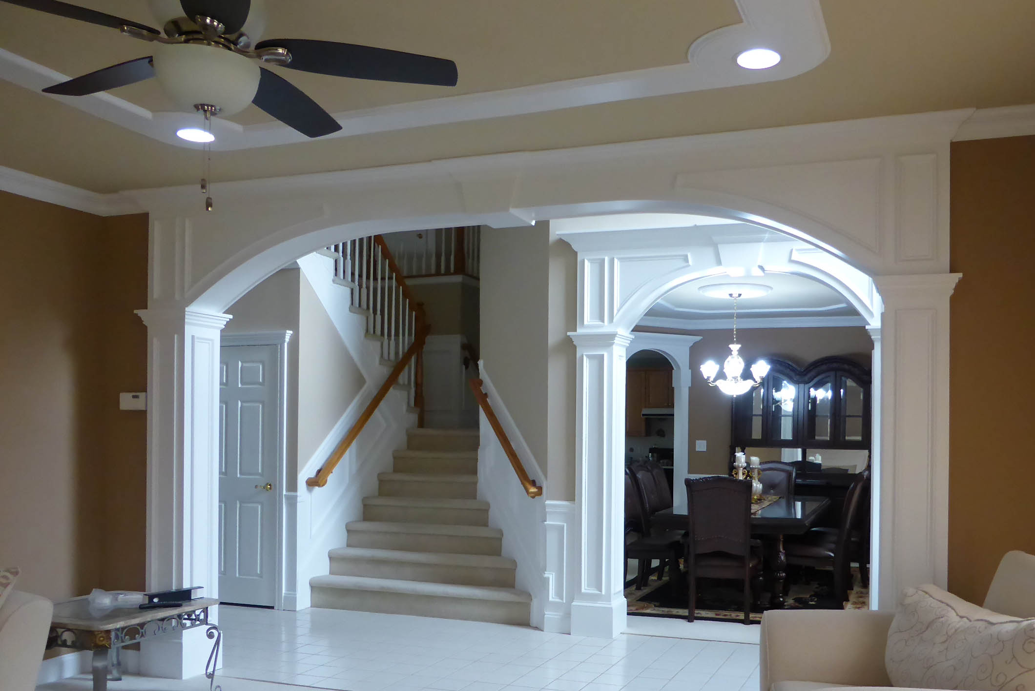 Arches Custom Interior Arches by Crown Molding NJ LLC