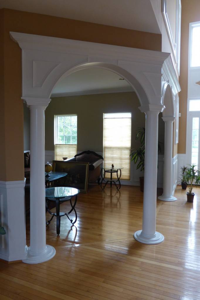 Wall painting stencils designs - Arches Custom Made Arches Crown Molding Nj