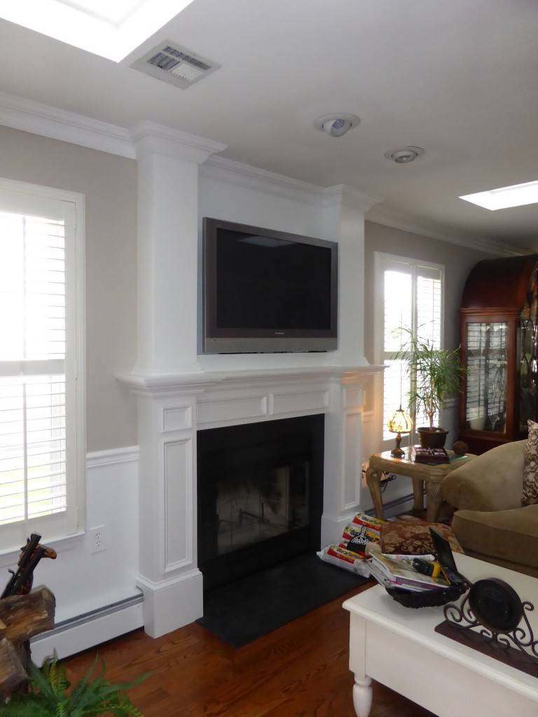 Mantels Fireplace Mantels Crown Molding Nj Original