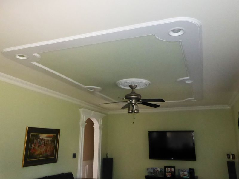 Ceiling Wainscoting Ideas