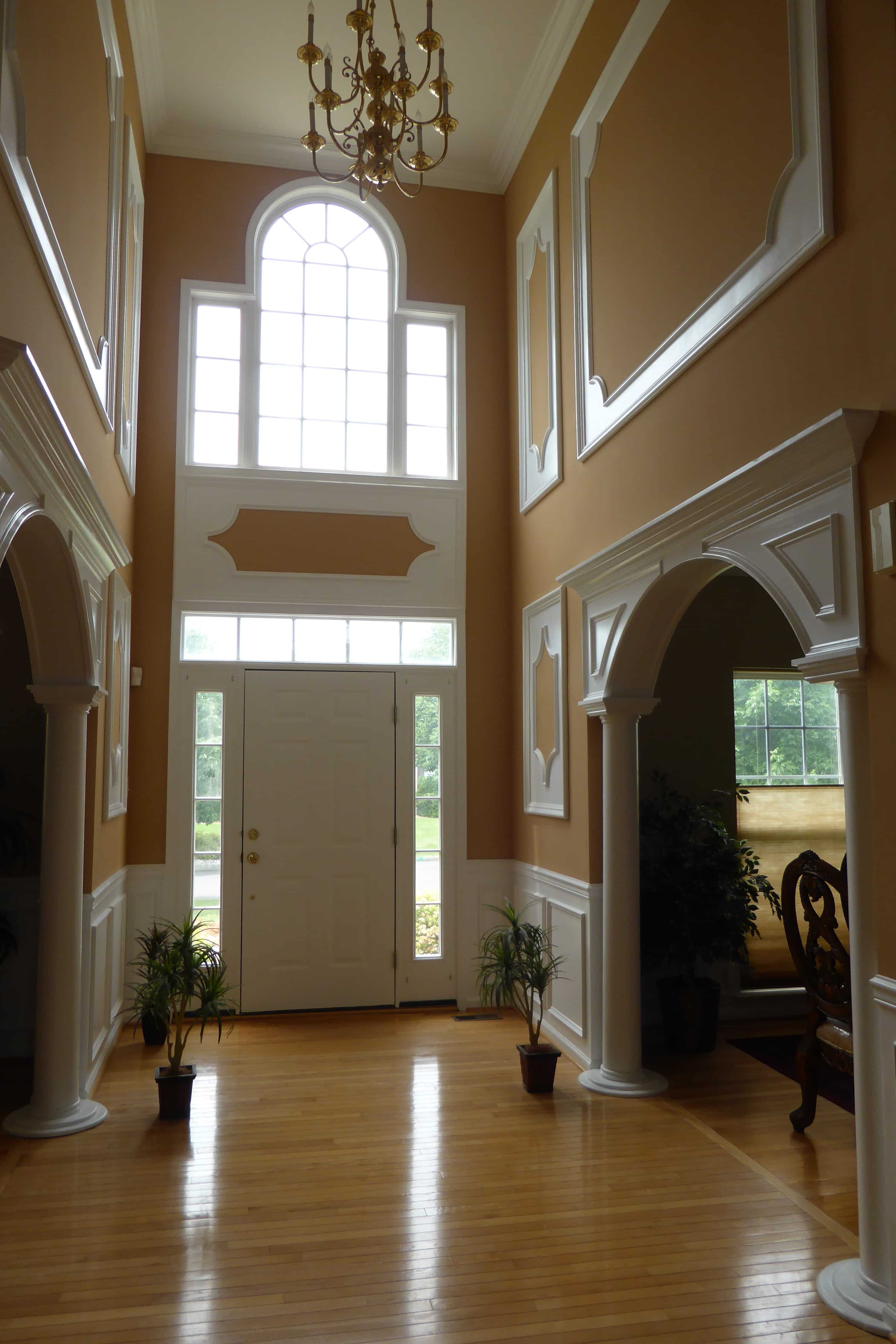 Arched Crown Moulding Wall Frames Crown Molding Nj Wall Frames Expert Installations