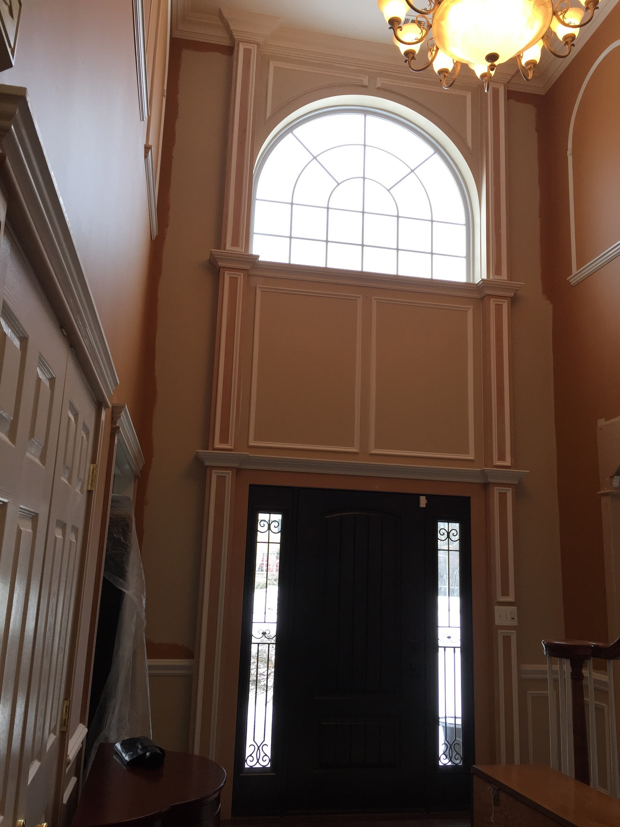 Foyer Architecture Reviews : Foyer crown molding nj llc