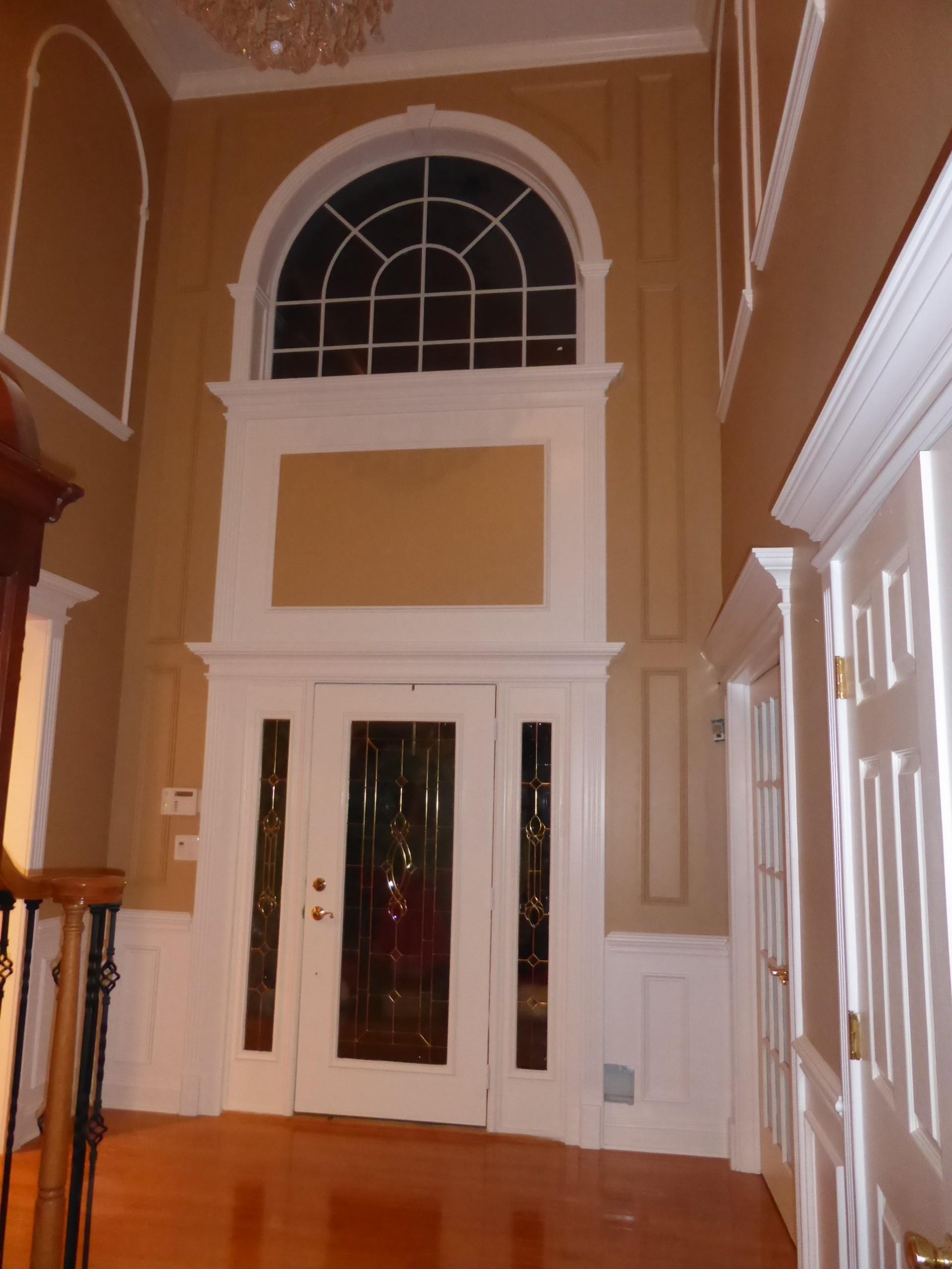 Foyer Ceiling Trim : Foyer design crown molding nj llc