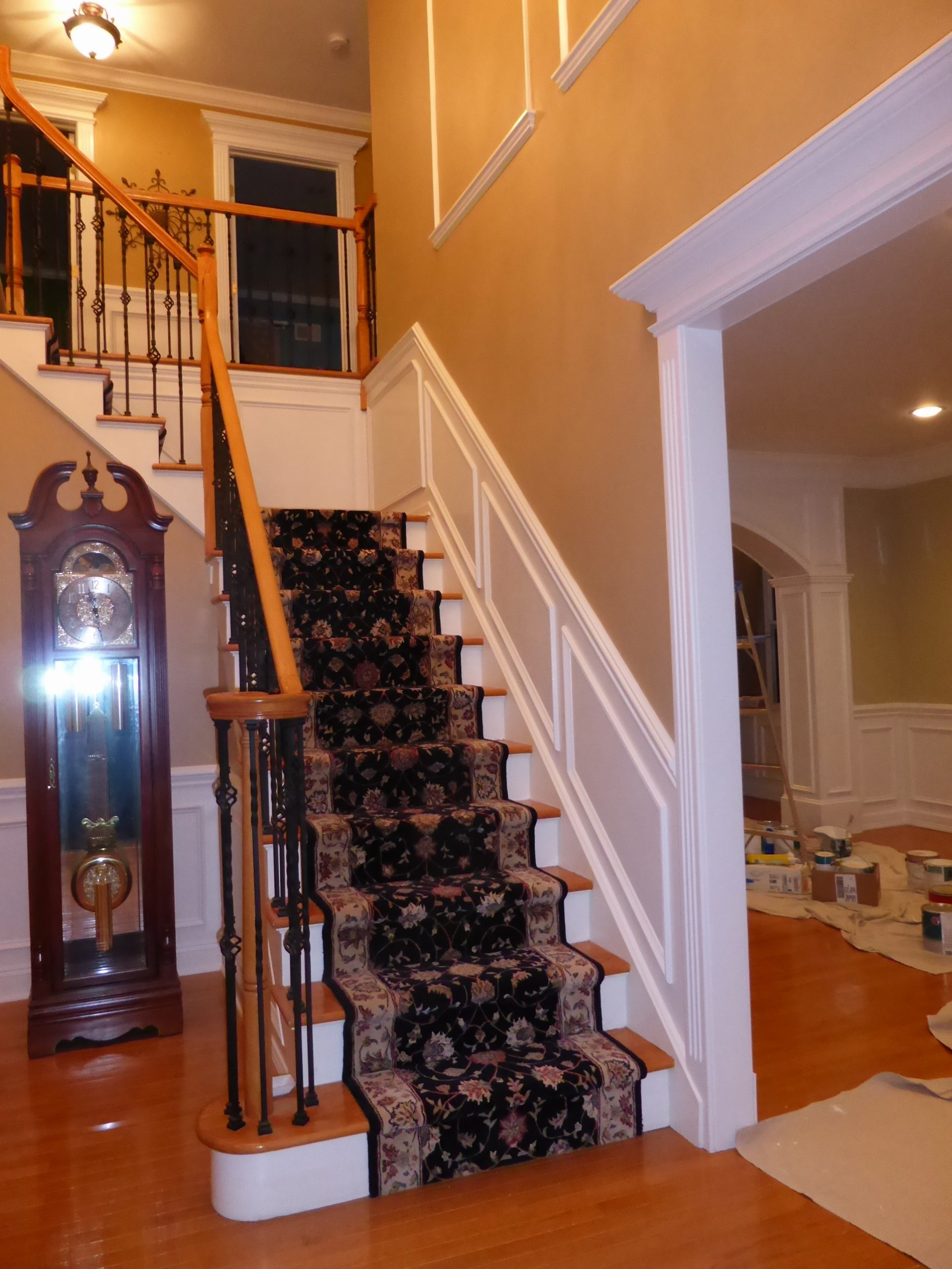 Foyer Architecture Reviews : Foyer design crown molding nj llc